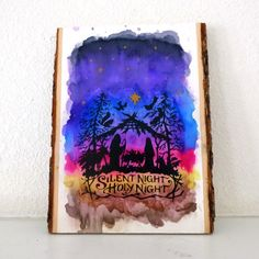I will show you how to do an image transfer on a wood plaque over semi permanent watercolors.