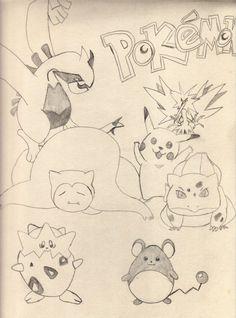 #Pokemon - JLR Drawing