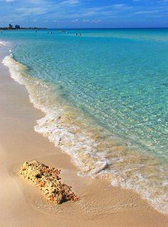 Caribbean waters. Cuba