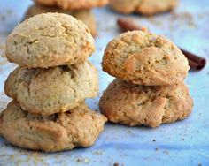 Gluten-Free Eggnog Cinnamon Sugar Cookies Recipe