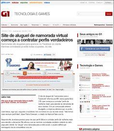 オンライン上での偽物の彼女を提供してくれるネットサービス「NamoroFake」 - GIGAZINE