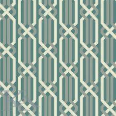 Tapet CRISS CROSS din Colectia VIBE. Tapet modern tip fier forjat in culori de alb si albastru pentru Dormitoare, Hol.