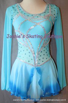 Joanie's Figure Skating Boutique of Newfoundland, Canada-Figure Skating Dresses, Custom Skating Dress, Skating Skirts, Skating Apparel. Dance. Baton. Leotard http://www.joanies-skatingboutique.com