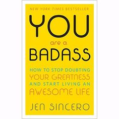 This fun and spunky read from success coach Jen Sincero is a how-to guide on upgrading your life written with humor, style, and wisdom. A great book for anyone who needs a swift kick in the pants to g