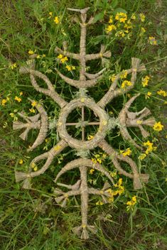 Wicca Witchcraft, Wiccan, Rune Symbols, Basket Crafts, Asatru, Nature Crafts, Outdoor Art, Lithuania, Glyphs