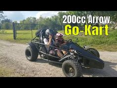 Arrow 200 at the park for the first time - YouTube Roadster Car, Go Kart, The One, First Time, Arrow, Park, Youtube, Kids, Karting