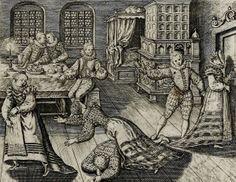 Emblemata nobilitati et vulgo scitu digna (1592).  Engraving by Theodor de Bry.