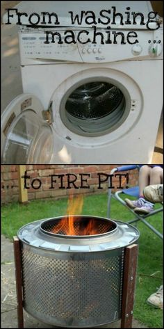 From Washing Machine to Fire Pit!