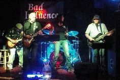 Check out Bad Influence OKC on ReverbNation - They rock - do justice to the Pretenders, among others - thanks for fanning me too