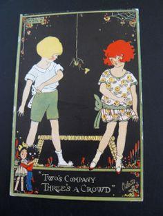 Phyllis Cooper Happy Land Postcard Golliwog Golly Spider Toy Doll   eBay