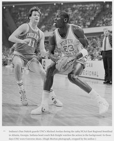 Dan Dakich - Indiana and Michael Jordan