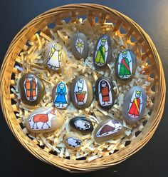 Two great ideas for creating a Nativity scene at home.