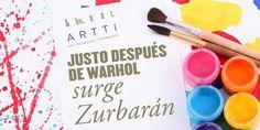 Justo después de Warhol surge Zurbarán.