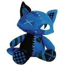 Emily the Strange Kitty Plush - Blue