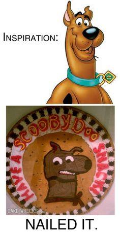 Nailed It. via Cakewrecks.com