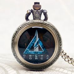 Hot Army Special Force/Delta Force/Cobra/Marshal Pendant United States Gift Necklace Pocket Watch Women Modern