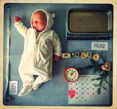 MARCEL - PORTRET NEW BORNA :)