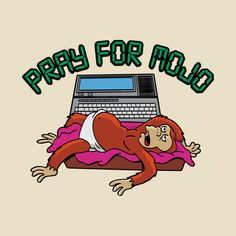 Check out this awesome 'Pray+For+Mojo' design on Simpsons Tattoo, Simpsons Art, Drake Art, Simpsons Characters, Retro Cartoons, Futurama, Cultura Pop, Pop Art, Animation