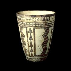 Painted beaker  Susa A, late 5th-early 4th millennium BC From Susa, south-west Iran