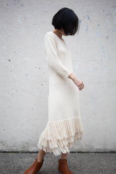 Ulla Johnson Carissa Dress in Natural at Oroboro Store