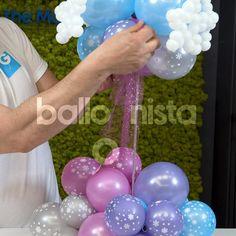 Balloon Crafts, Balloon Gift, Balloon Garland, Balloon Ideas, Balloon Arch, Birthday Balloon Decorations, Birthday Balloons, Birthday Party Decorations, Balloon Arrangements