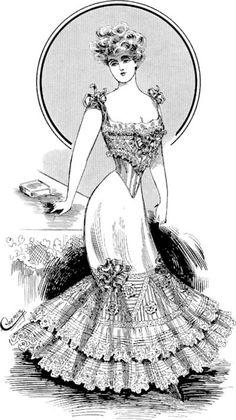 1906 - Les dessous élégants