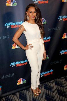 Mel B arriving at America's Got Talent Season 8 Red Carpet Event in New York City - Aug 28, 2013 - Photo: Runway Manhatt