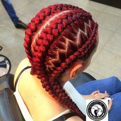 These 30 Braided Looks Will Make You Want to Rock Cornrows.the part here makes a huge difference in look! Cornrows, Senegalese Twists, Braided Hairstyles, Cool Hairstyles, Hair Colorful, Braids With Shaved Sides, Curly Hair Styles, Natural Hair Styles, Goddess Braids