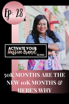 Ep 28: In this episode, Tanya discusses why many coaches and consultants sell themselves short by putting $10,000 in monthly revenue on a pedestal. She shares 5 reasons why it's necessary to look beyond 10K for the success most coaches and consultants desire to have in their business! Brand Expert, Seo Optimization, Today Episode, Creating A Brand, Sales And Marketing, Personal Branding, Online Business, How To Become, How To Apply