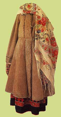 Late 19th Century Folk Dress, Russia