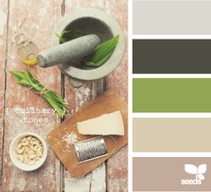 culinary tones. Um I'm going to need a huge house in order to use all of the color palates that I've pinned.