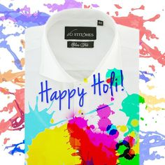 Wish you a very happy and safe holi!  #HappyHoli #festive #celebrations #colours #holiday #fun #menswear #style #fashion #fb #instalike #instagood #instapic #picoftheday