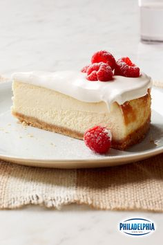 This is not your mother's cheesecake: It's the classic dessert topped with a fluffy, whipped layer of vanilla mousse. It's the perfect way to show the one you love you are willing to go the extra mile for them this Valentine's Day!
