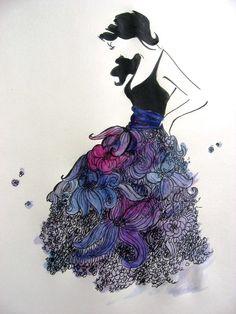Pink Lemonade Design: Jessica Durrant Watercolors