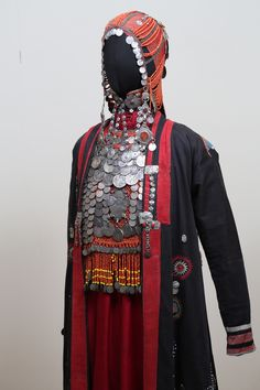 Chuvash costume side view
