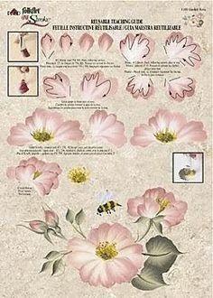 worksheet - flower - Уроки живописи - Наталья Кравченко - Álbumes web de Picasa