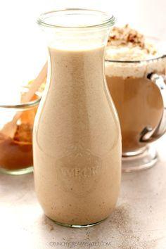 Pumpkin Spice Coffee Creamer Recipe Card  http://www.crunchycreamysweet.com/pumpkin-spice-coffee-creamer-recipe-card/
