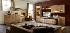 Obývací stěna a sideboard WOODSTOCK_obr. 1