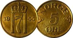 They are not Mint condition they have been through circulation, we leave the cleaning of coins up to your own preference. Coins For Sale, Norway, Europe, Ebay