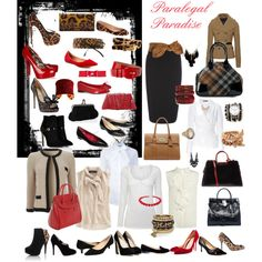 """Paralegal Paradise"" by durhamparalegal on Polyvore"