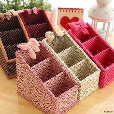 8d309905ca97d2a7b907cb493633875e.jpg (800×800) Cardboard Organizer, Dresser Shelves, Office Desktop, Cosmetic Storage, Diy Desk, Makeup Box, Diy Storage, Storage Boxes, Creative Box