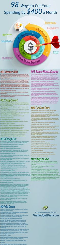 98 ways to save money