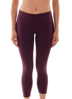 "90 Degree By Reflex 22"" Yoga Capris Raisin XS 90 Degree By Reflex http://www.amazon.com/dp/B00I0VHRFC/ref=cm_sw_r_pi_dp_LbMBvb1JDKF40"