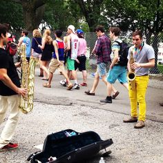 Battle of the Saxes, Governor's Ball