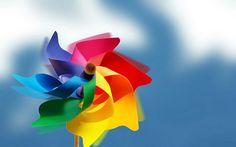 Asadal Design : Fantasy & Creative Design Wallpapers - Asadal Fantasy Art Design - Rainbow Pinwheel 1920*120028