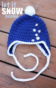Holiday Hats at RepeatCrafterMe.  This site has a long list of hats to crochet!