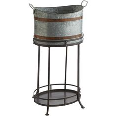 Galvanized Beverage Tub - Outdoor