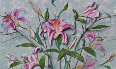 Decoupage con volumen Decopage, Rubrics, Plants, Painting, 3d, Paintings, Decorations, Fabrics, Crafts To Make