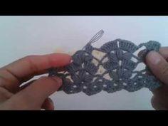 Tığ işi bayan yelek modeli - YouTube
