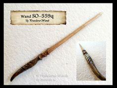 This wand was commissioned by Jennifer B. and is based on the character Nicholas Rush from Stargate. Jennifer described him to me as a collection of dichotomies -- logic and passion, caring and cal...